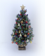"Luxury 8"" Grande OOAK dollshouse 12th scale Christmas Tree"
