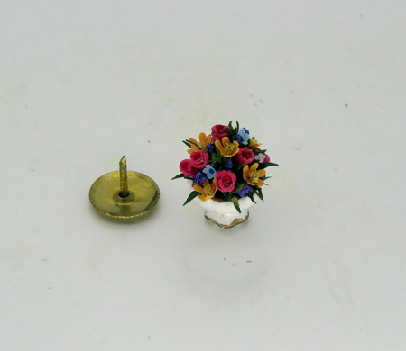 24th Scale Roses, Cosmos, Budlia Flower Bowl