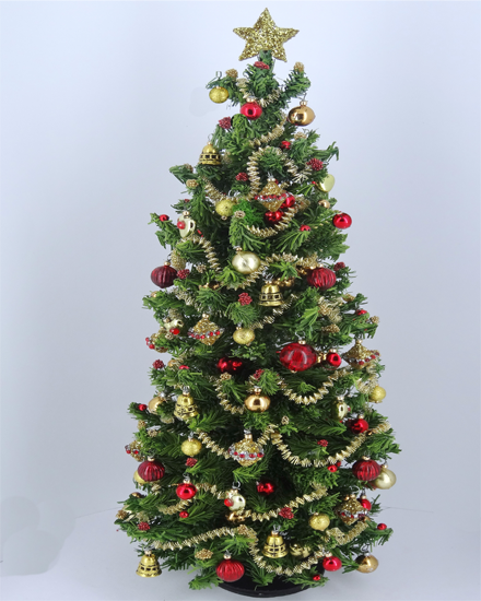 "7"" Luxury One of a Kind 12th scale Traditional Christmas Tree"