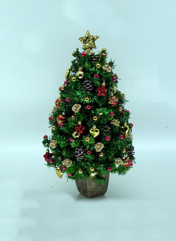 Luxury Golden Rose Christmas Tree