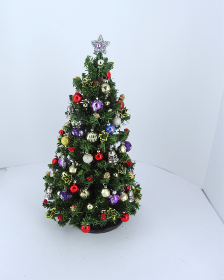"12th/24th Scale 5"" Handmade Christmas Tree"