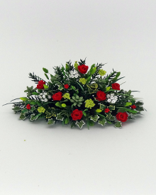 12th scale Winter Floral Arrangement
