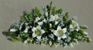Lily and Ivy Mantle Display - Click Image to Close