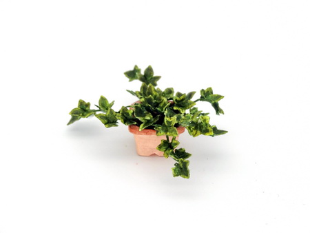 Handmade 1/12th/ 1 inch scale dollshouse English Ivy - Click Image to Close