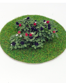 12th Scale Dollshouse Miniature Blackberry Bush - Click Image to Close