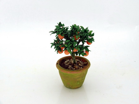 12th scale Patio Orange Bush