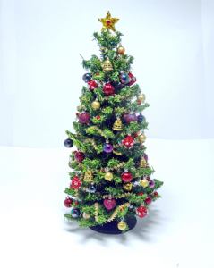 "7""12th scale Luxury Berry & Red Christmas Tree"