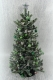 "9"" Luxury Irish Themed Blue Spruce Christmas tree"