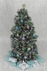 8.75 Luxury OOAK 12th scale Dollshouse Frosted Christmes Tree