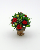 12th scale Red Rose Winter Arrangement