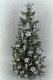 "Luxury 9.25"" White Poinsettia 12th scale Christmas Tree"