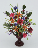 Dollshouse Miniature 12th scale Formal Floral Arrangement