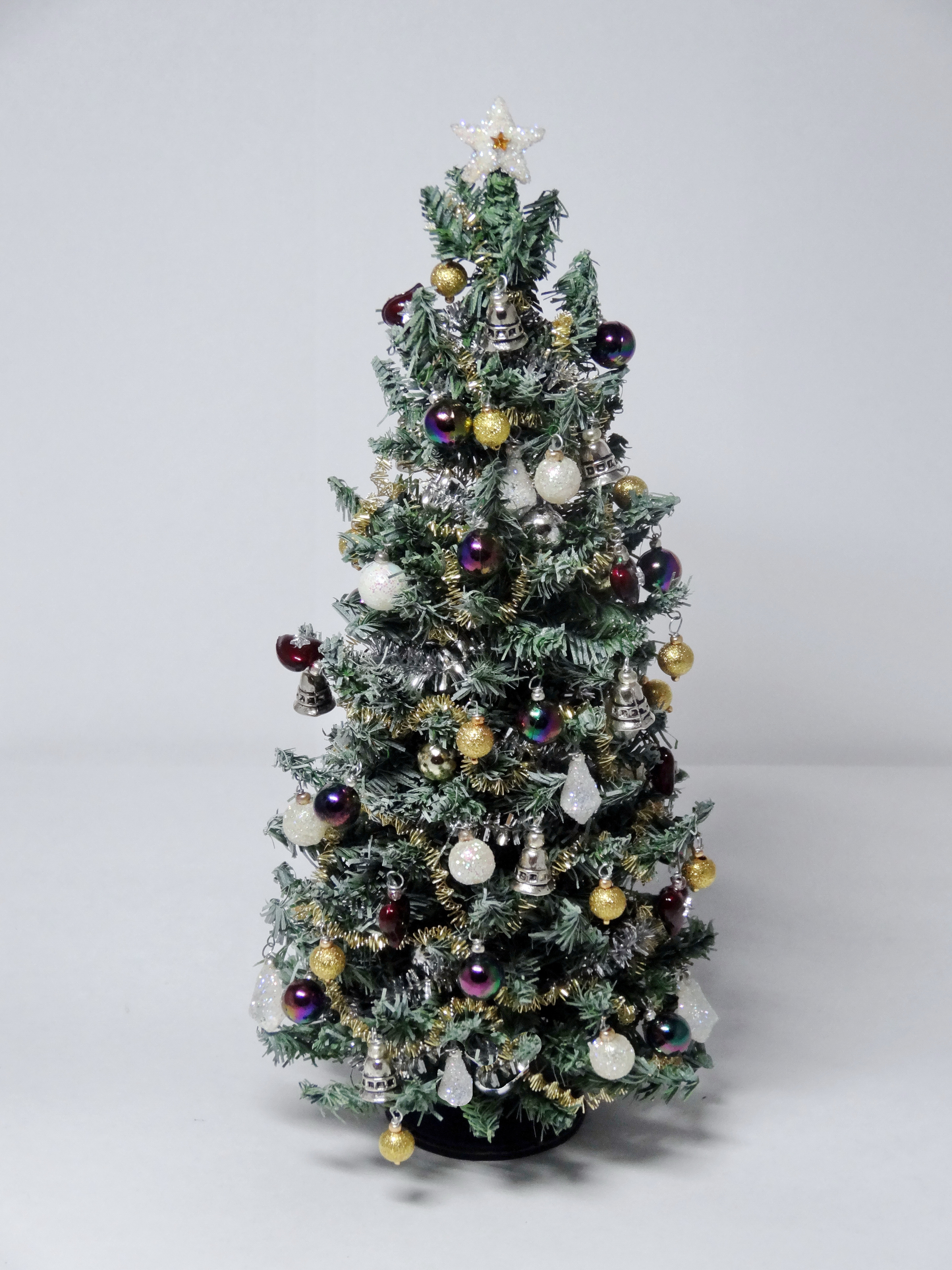 Luxury Blue Spruce 12th scale Christmas